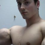 Zach Zeiler Arm Pumping & Posing