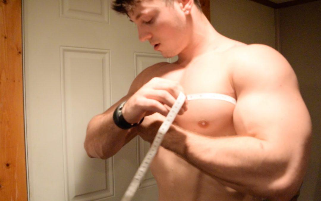 Zach Zeiler Chest Flex, Pump & Measure