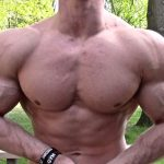 Zach Zeiler Cutting Posing Muscle Flexing Update