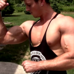 Zach Zeiler Outdoor Pump Up and Posing Update