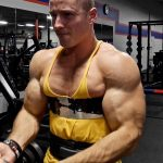 Zach Zeiler Big Boy Bicep Arms Pumping and Flexing