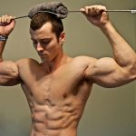 Shredded Bodybuilder Zach Zeiler Bends Steel Rods