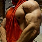Zach Zailer Pump Up Ripped Muscles Shows Biceps Size