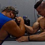 Zach Zeiler Armwrestling Power And Flexing Muscles